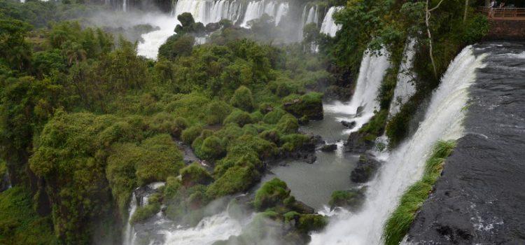 Fascinerende vandfald i Iguazú