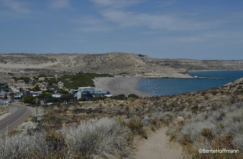 Puerto Pirámides på Península Valdés