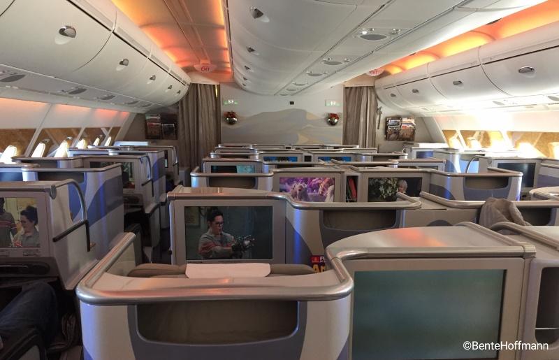 Business class hos Emirates kan redde enhver træt rejsende