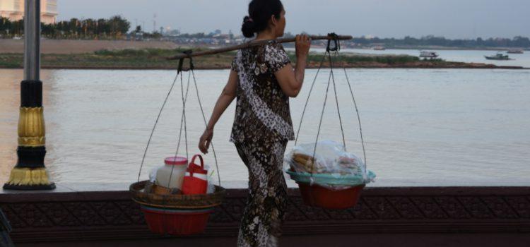 Phnom Pehns Riverfront