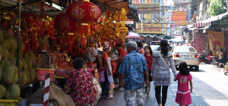 Kinesisk nytår 2017 i Bangkok
