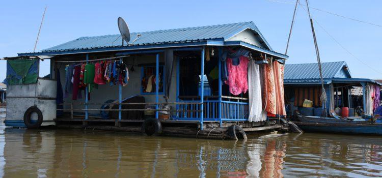 De flydende landsbyer i Kampong Chhnang