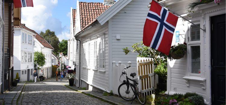 En dag i Stavanger i det sydvestlige Norge