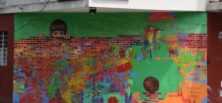 Street art i Palermo i Buenos Aires
