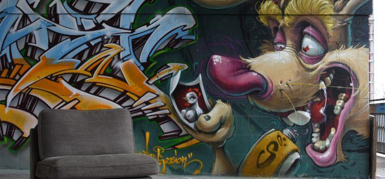 Teufelsberg i Berlin – et street art-eldorado