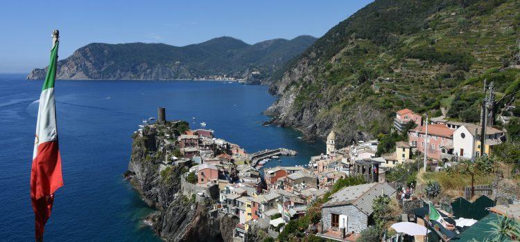 Varm vandretur i Cinque Terre: Fra Monterosso al Mare til Corniglia