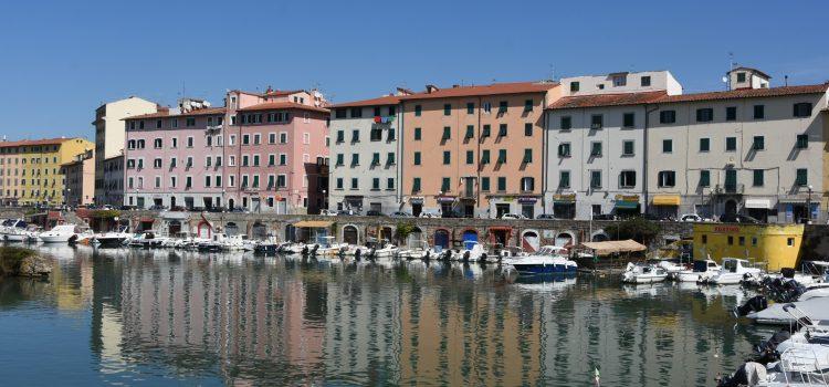 En halv dags oplevelser i Livorno i Italien