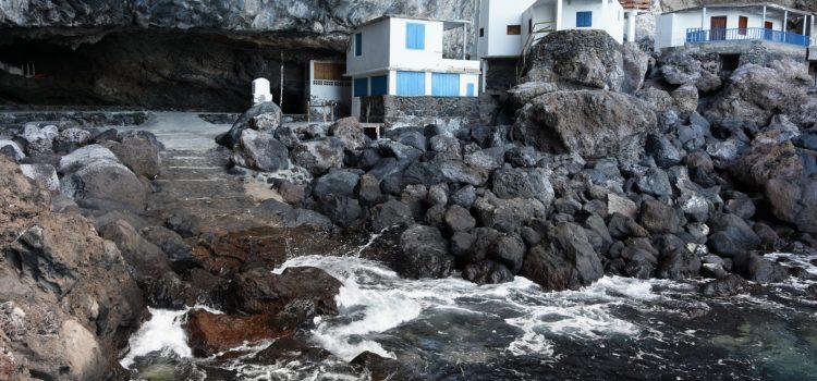 Byen i grotten Cueva de Candelaria på La Palma